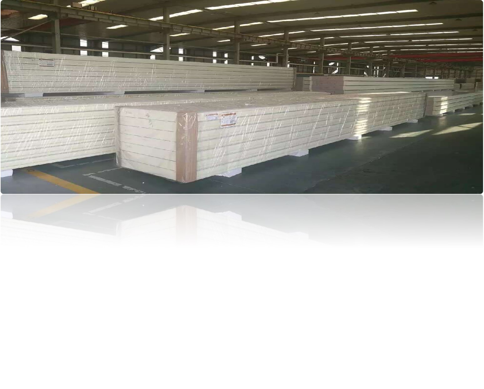 Camlock PU/PIR sandwich panel as modular cold room wall partition