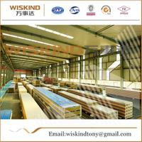 Fireproof Rock Wool Sandwich Panel Used House