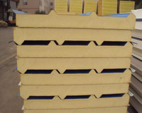 PVDF Coating Sandwich Panel for Outside Building Wall/Roof Decorative