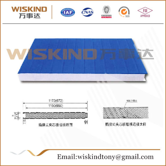 Fireproof EPS Sandwich Panel for Steel Structure