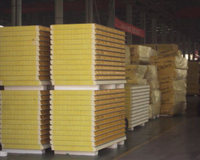 Fireproof/Fire-Ressistant/Insulation EPS/PU/PIR/Rock Wool/PUR Sandwich Panel for Container House with ISO/FM