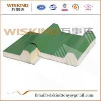 Fireproof PU/PIR Sandwich Panel for Warehouse