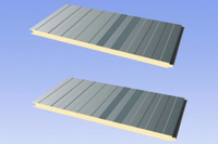 Exporting China Factory Heat Insulation EPS/PU/PIR/Rockwool Sandwich Wall and Roof Panel for Clean and Cold Room