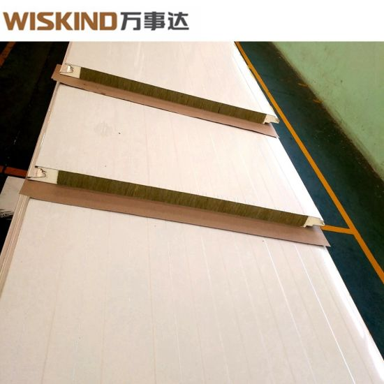 Colorful Corrugated Rock Wool Sandwich Panel for Roof Cover