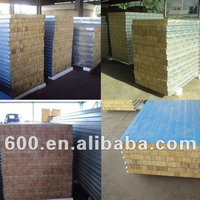 Rock Wool Sandwich Panel for Hot Sale in China