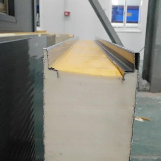 PU Sandwich Panel Cladding for Medicine Food Industry