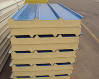 50mm/75mm/100mm/150mm/200mm Metal Sandwich Panel for Henhouse