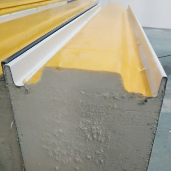 PU Polyurethane Sandwich Panel with Insulation Sound-Proof for H Beam Factory Office Wall