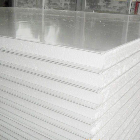Good Quality Low Cost EPS/PU/PIR/Rockwool Sandwich Panel for Prefab Building