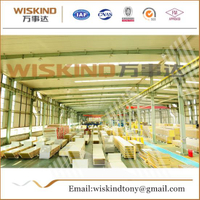 Fireproof Rock Wool Sandwich Panel Used Warehouse