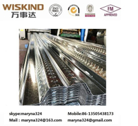 0.2mm-0.8mm Thickness Z275g Spangle Galvanized Cold Rolled Color Coated Corrugated Steel Deck for Warehouse Floor Deck