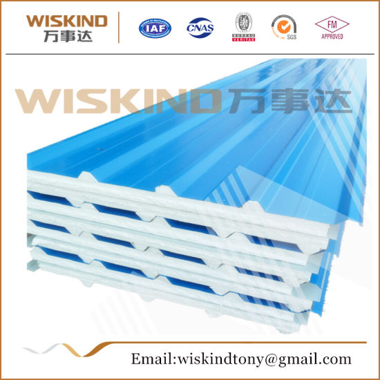 Fireproof EPS Sandwich Panel for Clean Room