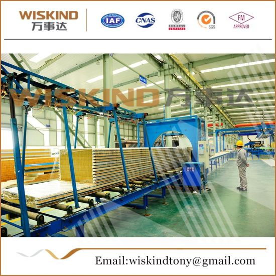 High-Quality Rock Wool Sandwich Panel Used Warehouse