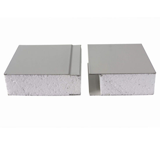 China Factory Heat Insulation EPS/PU/PIR/Rockwool Sandwich Wall and Roof Panel for Clean and Cold Room
