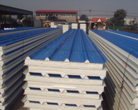 Low Weight Polystyrene Sandwich Panel EPS Sandwich Panel for Warehouse as Building Cladding Wall