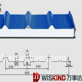 EPS Sandwich Panel Production Line China Wiskind