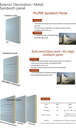 Air Tight Standing Seam Roofing System for Industry Steel Structure Building Envelop